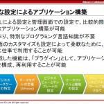 【ビジネスが加速するAlfresco Workdesk】6 特長(3)»XMLによるアプリケーション構築