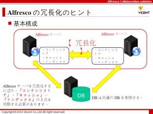 news   Alfresco(アルフレスコ)を120%活用するためのTips 4 2 ―冗長化構成のヒント―