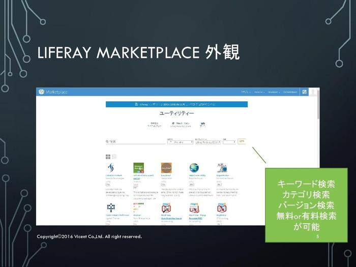 news   LIFERAYマーケットプレイスで、様々なプラグインを入手する(2/3)